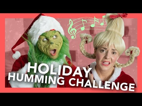 Download Youtube: Grinch Holiday Humming Challenge (ft. Grace Helbig)