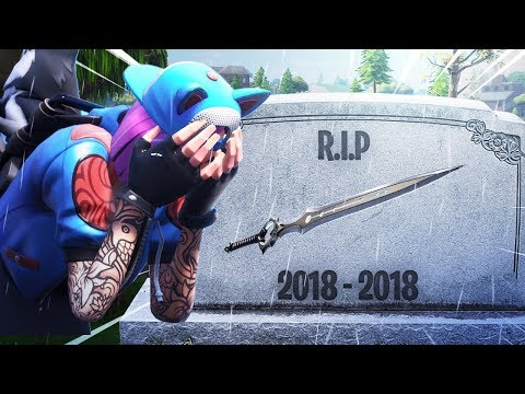 The Fortnite Infinity Blade is DELETED..
