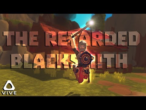 THE RETARDED BLACKSMITH • A TOWNSHIP TALE VR - HTC VIVE GAMEPLAY