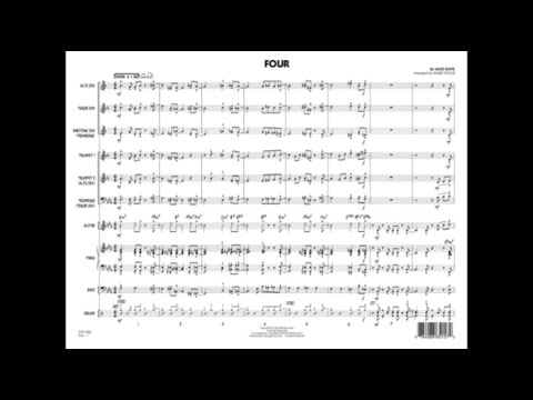 Four by Miles Davis/arr. Mark Taylor