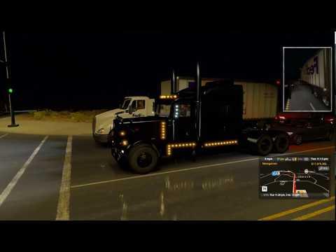 American Truck Simulator  Black Betty to Albuquerque NM Empty Trailer