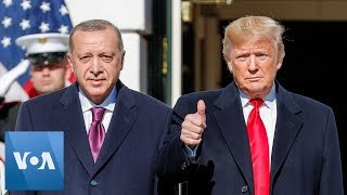President Trump Welcomes Turkey's President Erdogan to White House