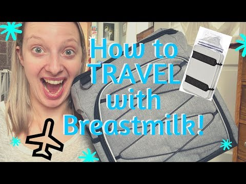 Traveling with Breastmilk || How To and MORE! #freezeitflat #travelingwithbreastmilk #tsabreastmilk