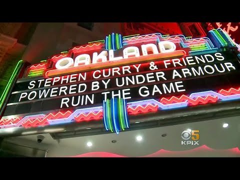 Steph Curry Celebrates Oakland, Warriors Fans, Shoes With Free Concert at Fox Theater