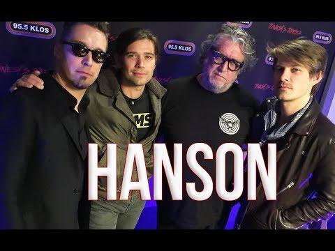 Hanson in-studio on Jonesy's Jukebox