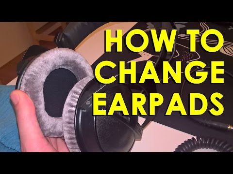 Beyerdynamic: How to change earpads