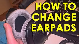 Beyerdynamic: How to change earpads