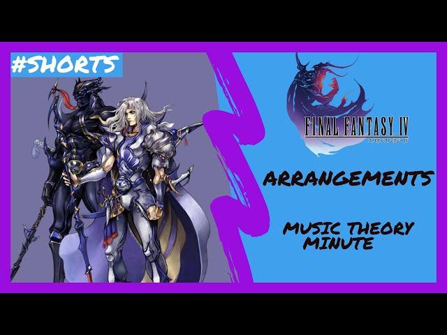 Music Theory Minute | Arrangements | Final Fantasy IV | #Shorts