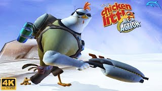 Chicken Little: Ace in Action - Wii Gameplay 4k 2160p (DOLPHIN)