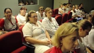 Palestra no Hospital das Clínicas de Ribeirão Preto -  Alimentação sem modismo com ciência e consciência
