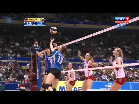 ดูชัดชัด บอลเร็ว นุสรา-ปลื้มจิต เกมส์ไทยชนะรัสเซีย2013.11.17