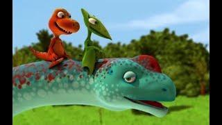 Поезд динозавров Самый большой аргентинозавр Мультфильм для детей