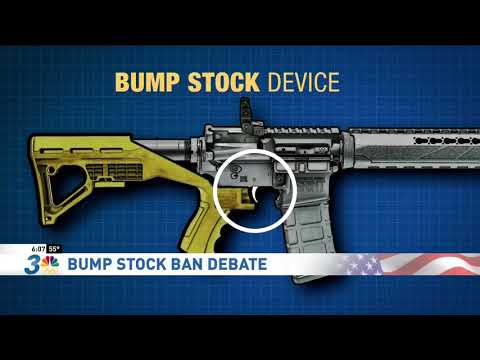 Steve Sisolak Discusses Bump Stocks (KSNV)