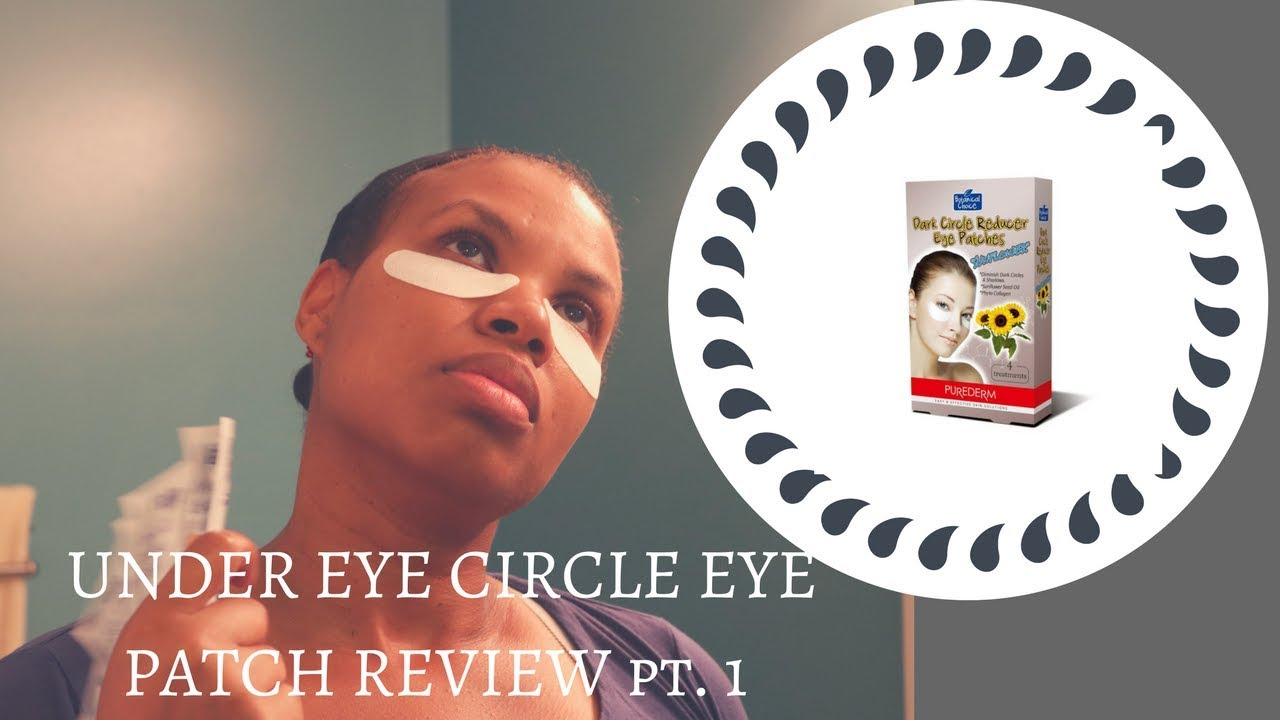 Under Eye Circles Patch Product Review Purederm Dark Circle Reducer Mask Part 1