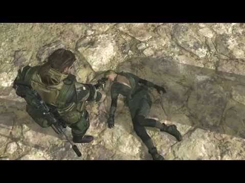 Metal Gear Solid 5 Phantom Pain - Big Boss Vs. Quiet (Sniper Wolf) Extreme Mode