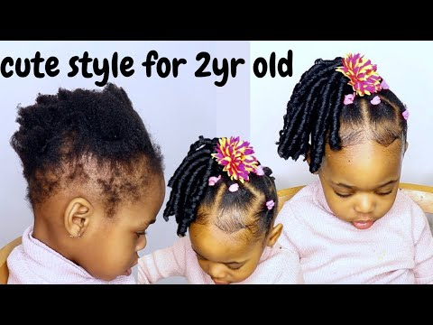 can´t-braid-or-cornrow?try-this-cute-and-easy-hairstyle-for-kids|-toddlers-with-short-natural-hair
