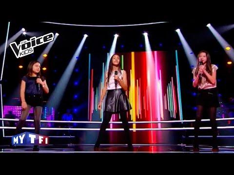 The Voice Kids 2016 | Mae - Leena - Maha sur ''Next to me'' (Emeli Sandé) | Battle