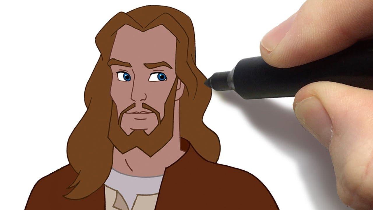 Como Desenhar Jesus Desenhos Biblicos Historias Animadas Do Novo