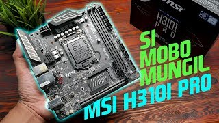 uNBOXING!!! Motherboard Mini ITX MSI H310I PRO