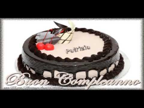Torta Compleanno Patrizia.Tanti Auguri Di Buon Compleanno Patrizia Youtube