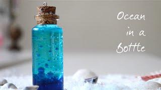 Ocean in a Bottle DIY