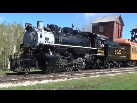 NEW WHISTLE!!! CPR 2023 Reopening Weekend At Heritage Park Calgary AB. May 19 2018