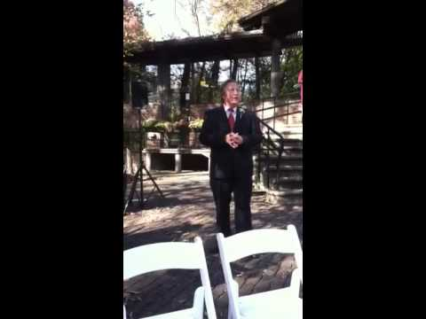 Thomas Booth sings Ave Maria