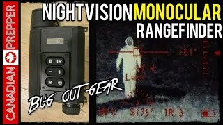 Bug Out Gear: Nightvision/ Rangefinder Monocular