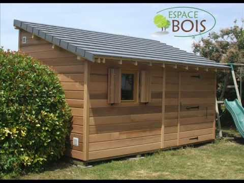 Abris de jardin en bois youtube for Photo abri de jardin