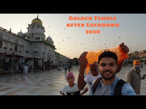Visit to Golden Temple, Amritsar after Lockdown 2020