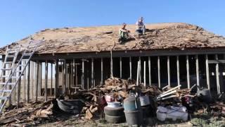 1940s Barn Salvage - Shingle Removal
