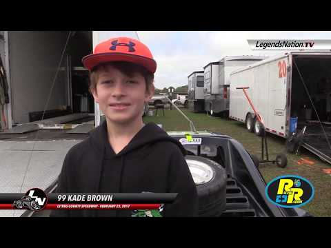SOUND OFF : Kade Brown Explains to LN How His Winter Nationals Is Going