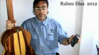 Friendship with the Metronome in Flamenco 1 Ruben Diaz  Lesson on Chanela with Tabs (78 bpm) CFG