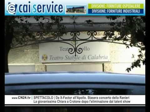 CN24   180secondi del 13 NOVEMBRE 2009    L'informazione calabrese in soli tre minuti
