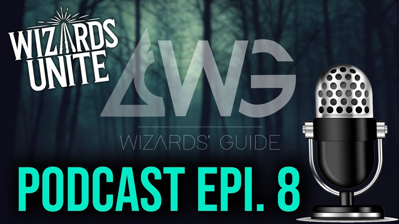 PODCAST 8: Rapid Fire Wizards Unite News, Sept. Community Day and Fan Fest Likes and Gripes!