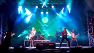 "AMORPHIS - ""Black Winter Day"" + ""Drowned Maid"" (Vagos 2015)"