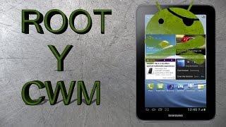 Instalar ROOT Y CWM recovery en galaxy tab 2 7.0