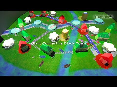 Giant Connecting Block Town