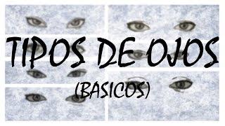 Como dibujar distintos tipos de ojos | How to draw different types of eyes