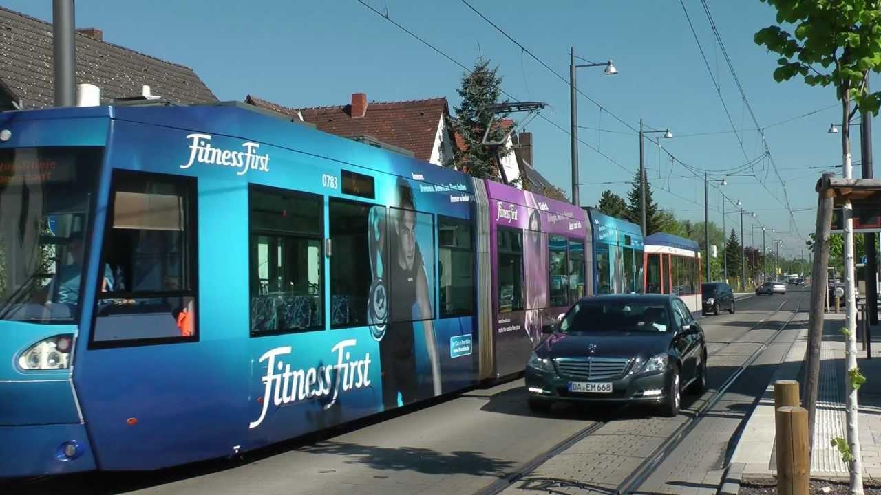 Stra Enbahn Darmstadt Die Strecke Nach Arheilgen Xxl