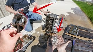 Tearing Down the Nitrous Miata engine.. MAJOR DAMAGE!!