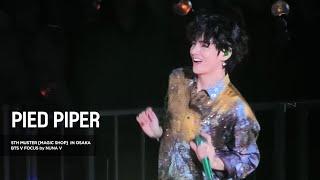 Download 191215 5th muster MAGIC SHOP - Pied Piper / BTS V / 방탄소년단 뷔 (4K fancam)