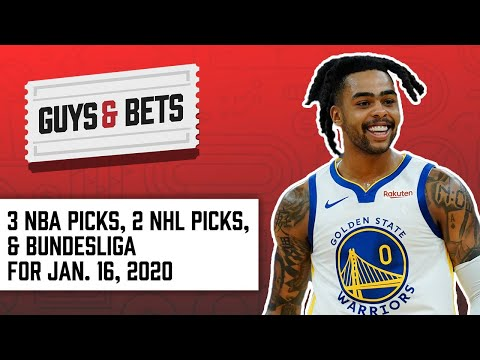 Guys & Bets: Three NBA Picks, Two NHL Picks And One Soccer Pick