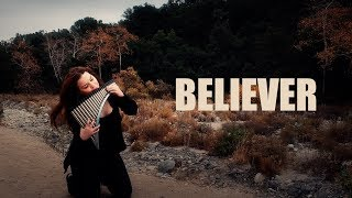 Imagine Dragons - Believer (Panflute cover by Mariana Preda)