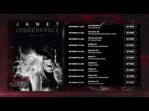 Janet Jackson Announces 'Unbreakable' World Tour