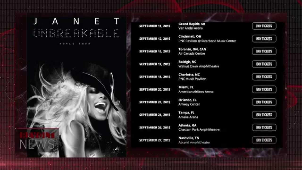 Janet Jackson Announces Return to World Tour While Addressing Separation from Estranged Husband