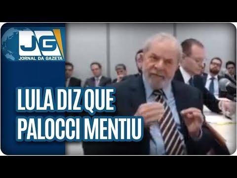 Lula diz a Moro que Palocci mentiu