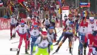 Биатлон. Кубок Мира 2014-2015. Этап 5 (Рупольдинг, Германия). Мужчины. Масс-старт 15 км