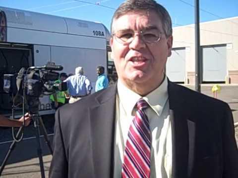 Talking Mesa light rail with Vice Mayor Kyle Jones