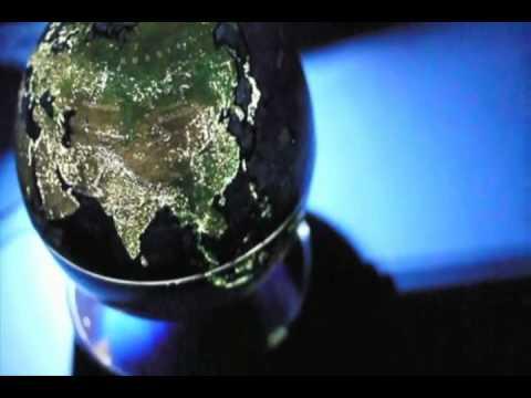 City Lights Globe - Rotates & Illuminates the City Lights of the World